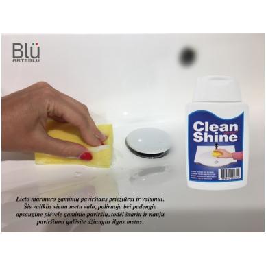 Akmens masės priežiūros priemonė Blu Clean&Shine 2