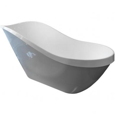 Akmens masės vonia Blu CAPRI 1693 Evermite su persipylimu 3