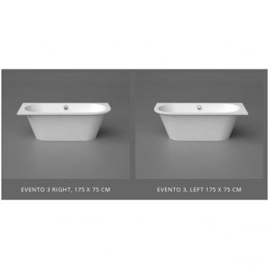 Akmens masės vonia EVENTO 3 VISPOOL 3