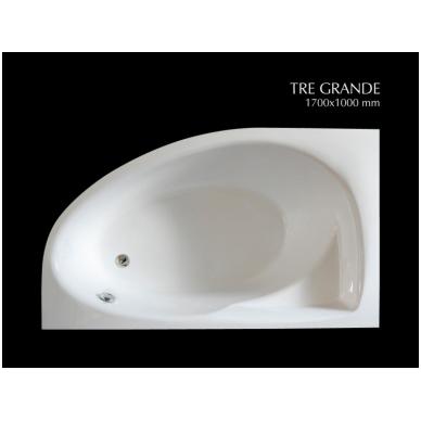 Akmens masės vonia PAA TRE GRANDE 170x100 2