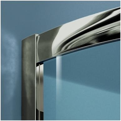 Asimetrinė dušo kabina Radaway Premium Plus E 1700 2