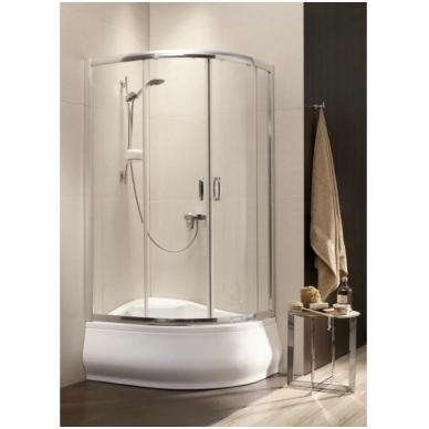 Asimetrinė dušo kabina Radaway Premium Plus E 1700