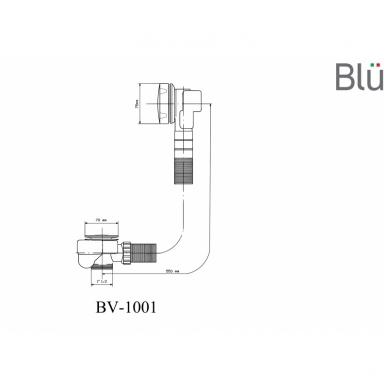 Automatinis sifonas voniai Blu 5