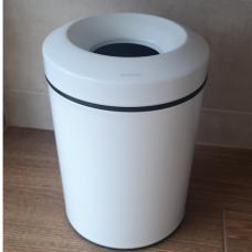Šiukšlių dėžė su anti kvapo dangteliu, balta matinė, Palazzani