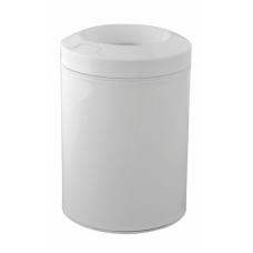Balta šiukšlių dėžė Palazzani su anti kvapo dangteliu