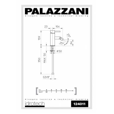 Bide maišytuvas Idrotech II, Palazzani 2