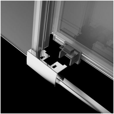 Dušo durys į nišą Radaway Idea DWD 3