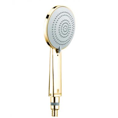 Dušo komplektas COSMO 280 su termostatiniu maišytuvu, aukso spalvos, Bossini 2