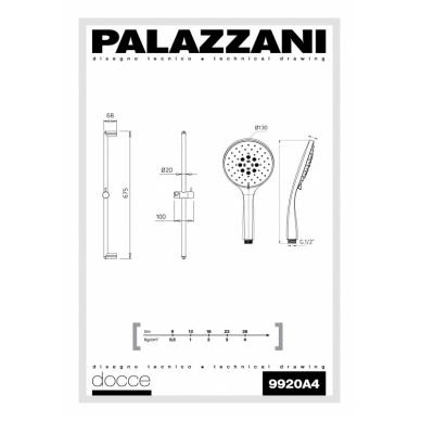 Dušo komplektas Idrotech 2 Formula Multi, Palazzani 2