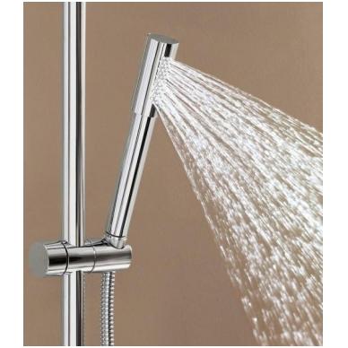 Dušo sistema su termostatu Rainshower Jumbo 400mm su Sena rankiniu dušeliu, chromas 4