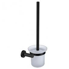 Juodos spalvos WC šepetys OMNIRES MODERN PROJECT