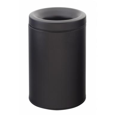 Juoda matinė šiukšlių dėžė Palazzani su anti kvapo dangteliu