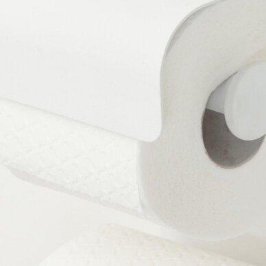 Laikiklis WC popieriui BRIX, baltas, Sealskin 3