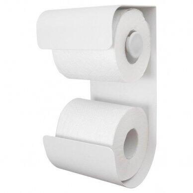 Laikiklis WC popieriui BRIX, baltas, Sealskin
