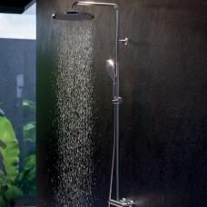 Virštinkinė dušo sistema APICE, termostatinė, įvairių spalvų, Bossini