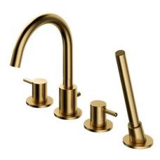 Maišytuvas montuojamas į vonios kraštą Y, auksinis matinis, Omnires