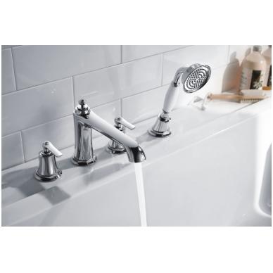 Maišytuvas montuojamas į vonios kraštą Omnires Armance