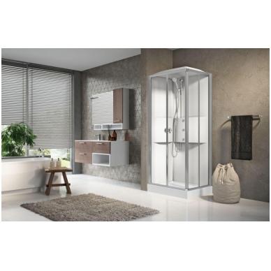 Masažinė dušo kabina Novellini Media 2.0, stačiakampė 3