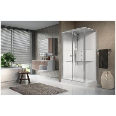 Masažinė dušo kabina Novellini Media 2.0, stačiakampė 4