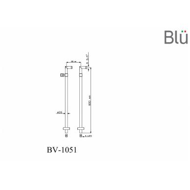 Modernios maišytuvo kojos su laikikliu Blu 5