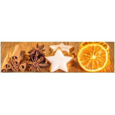 Namų kvapų komplektas - kvapų lempa White Satin Christmas (Cinnamon and Orange) LampeBerger 3