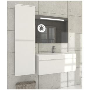 Pakabinamas vonios spintelė su praustuvu Blu MENSA