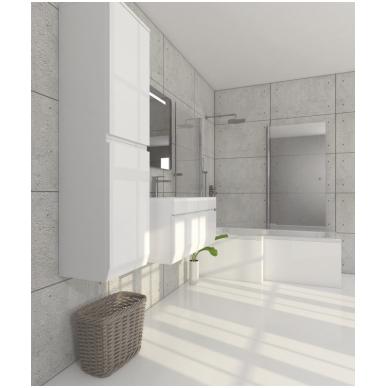 Pakabinamas vonios spintelė su praustuvu Blu MENSA 2