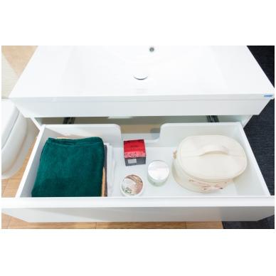 Pakabinamas vonios spintelė su praustuvu Blu MENSA 3