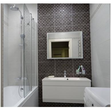 Pakabinamas vonios spintelė su praustuvu Blu MENSA 5