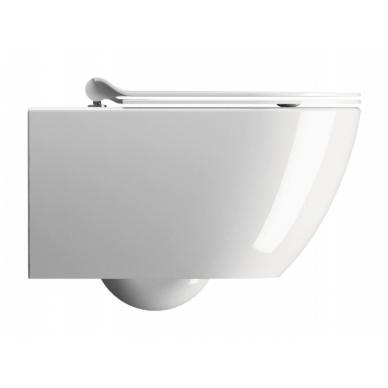 Pakabinamo WC PURA GSI Rimless ir Grohe 5in1 Skate Cosmopolitan rėmo komplektas 10