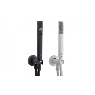 Dušo komplektas COSMO TERMO 230 su termostatiniu maišytuvu, potinkinis, juodas arba baltas matinis, Bossini 2