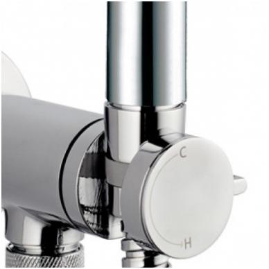 Progresyvinis bide maišytuvas su dušeliu Bossini E37 - PALOMA-BRASS PROGRESSIVE M (metalinė galvutė) 5