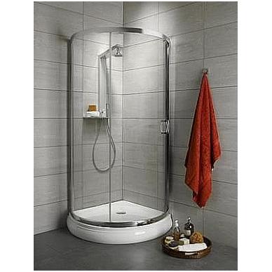 Pusapvalė dušo kabina Radaway Premium Plus B