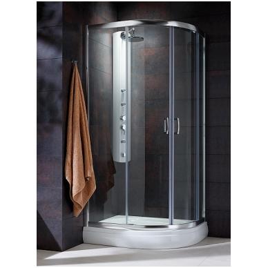 Pusapvalė dušo kabina Radaway Premium Plus E 1900