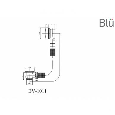 Sifonas voniai Click-Clack Blu 5