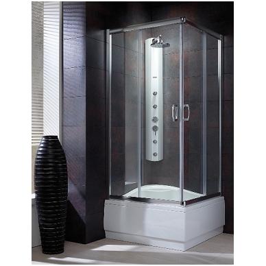 Stačiakampė dušo kabina Radaway Premium Plus C 1700