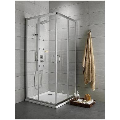 Stačiakampė dušo kabina Radaway Premium Plus D 1900