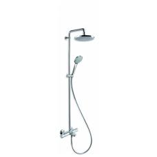 Termostatinė dušo sistema voniai Cristina su snapu