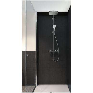 Termostatinis dušo komplektas Hansgrohe crometta e 240 1 jet showerpipe, chromas 2