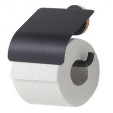 Laikiklis WC popieriui URBAN, juodas matinis, Tiger