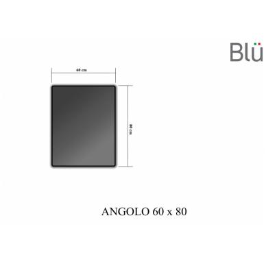 Veidrodis ANGOLO su LED apšvietimu 600 3