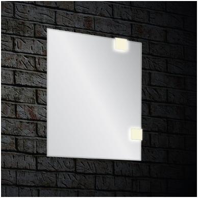 Veidrodis ANGOLO su LED apšvietimu 600