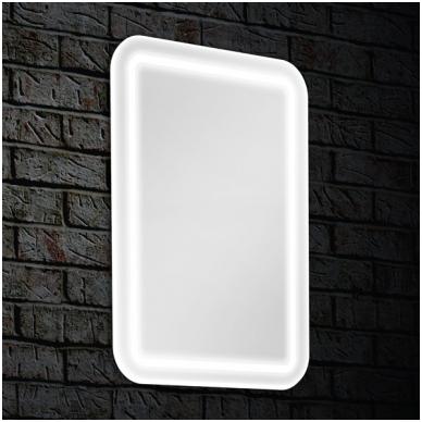 Veidrodis Blu LEON su LED apšvietimu