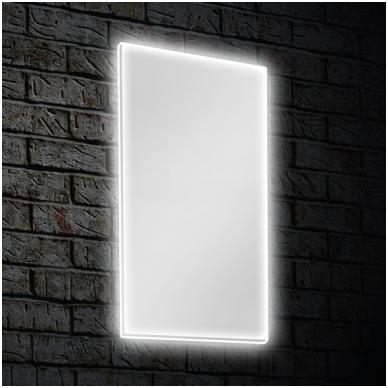 Veidrodis Blu MERIDA su LED apšvietimu