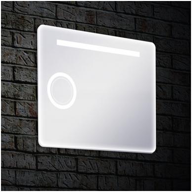 Veidrodis Blu MONDO PLIUS su LED apšvietimu 850