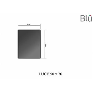 Veidrodis Luce su LED apšvietimu 500 2