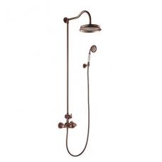 Virštinkinė termostatinė dušo sistema Omnires Armance (varis)