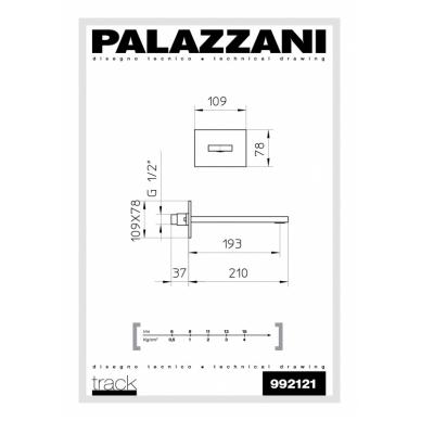 Vonios čiaupas Young Palazzani 2