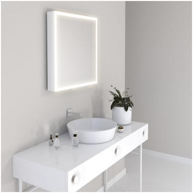 Vonios kambario veidrodis Com Miior (atitraukiamas) 2