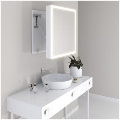 Vonios kambario veidrodis Com Miior (atitraukiamas) 3